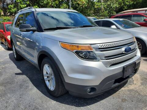 2013 Ford Explorer for sale at America Auto Wholesale Inc in Miami FL