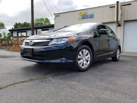 2012 Honda Civic for sale at Sinclair Auto Inc. in Pendleton IN