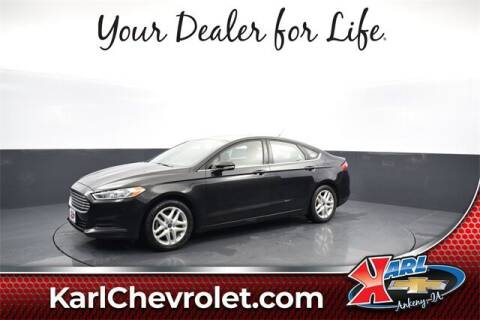 2014 Ford Fusion for sale at Karl Pre-Owned in Glidden IA