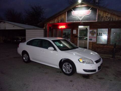 2011 Chevrolet Impala for sale at LEE AUTO SALES in McAlester OK