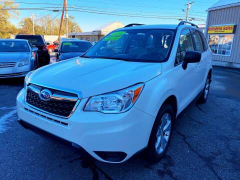 2016 Subaru Forester for sale at Dijie Auto Sale and Service Co. in Johnston RI