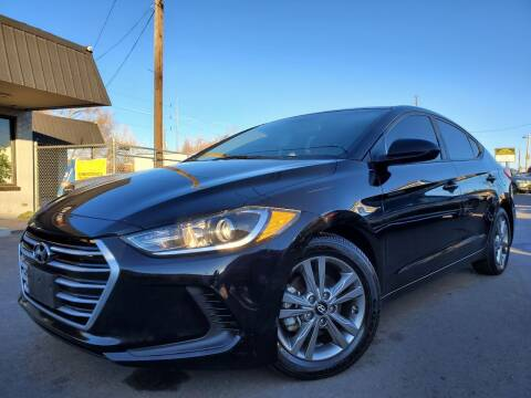 2017 Hyundai Elantra for sale at LA Motors LLC in Denver CO