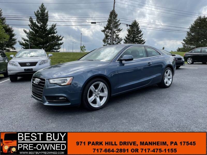 2015 Audi A5 for sale at Best Buy Pre-Owned in Manheim PA