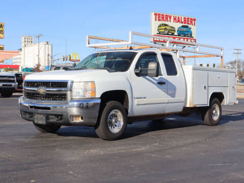 2008 Chevrolet Silverado 2500HD for sale at Terry Halbert Auto Sales in Yukon OK