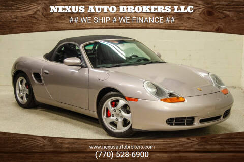 2001 Porsche Boxster for sale at Nexus Auto Brokers LLC in Marietta GA