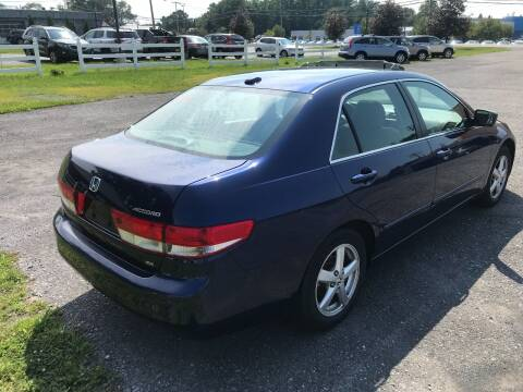 2004 Honda Accord for sale at RJD Enterprize Auto Sales in Scotia NY