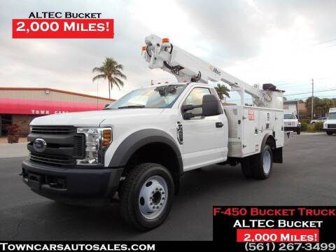 2019 Ford F-350 Super Duty for sale at Town Cars Auto Sales in West Palm Beach FL