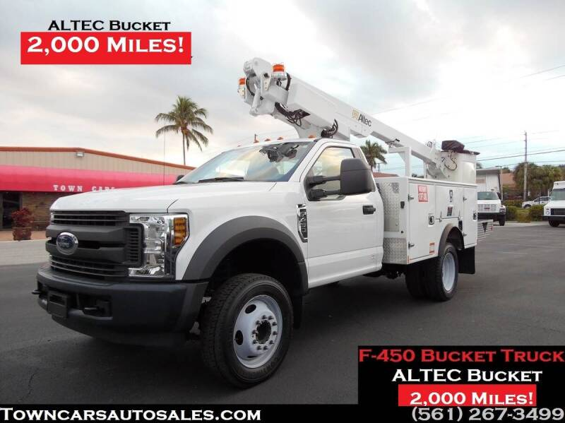 2019 Ford F-450 Super Duty for sale at Town Cars Auto Sales in West Palm Beach FL