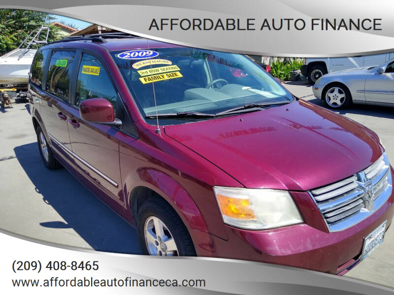 2009 Dodge Grand Caravan for sale at Affordable Auto Finance in Modesto CA