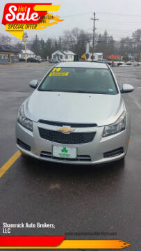 2014 Chevrolet Cruze for sale at Shamrock Auto Brokers, LLC in Belmont NH
