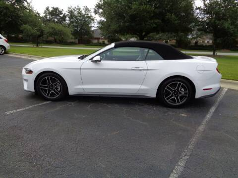 2019 Ford Mustang for sale at BALKCUM AUTO INC in Wilmington NC
