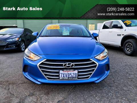 2017 Hyundai Elantra for sale at Stark Auto Sales in Modesto CA