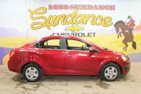 2014 Chevrolet Sonic for sale at Sundance Chevrolet in Grand Ledge MI