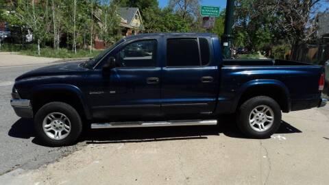2002 Dodge Dakota for sale at JPL Auto Sales LLC in Denver CO