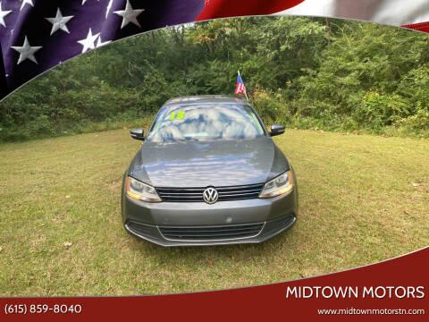 2013 Volkswagen Jetta for sale at Midtown Motors in Greenbrier TN
