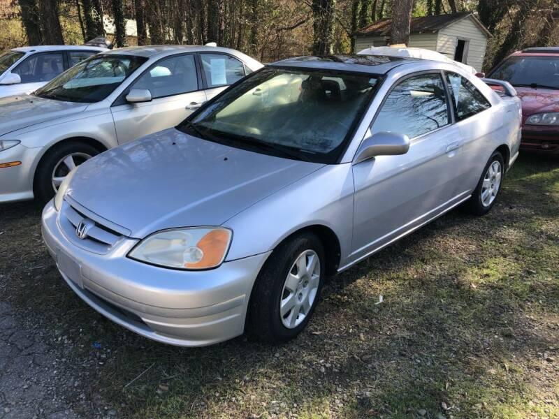 2002 Honda Civic for sale at L & M Auto Broker in Stone Mountain GA