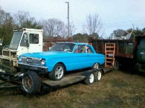 1962 Ford Falcon for sale at Classic Car Deals in Cadillac MI