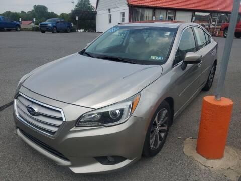 2017 Subaru Legacy for sale at Mulligan's Auto Exchange LLC in Paxinos PA