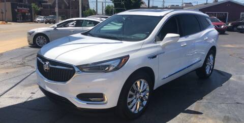 2018 Buick Enclave for sale at N & J Auto Sales in Warsaw IN