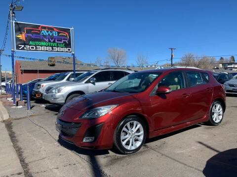 2010 Mazda MAZDA3 for sale at AWD Denver Automotive LLC in Englewood CO