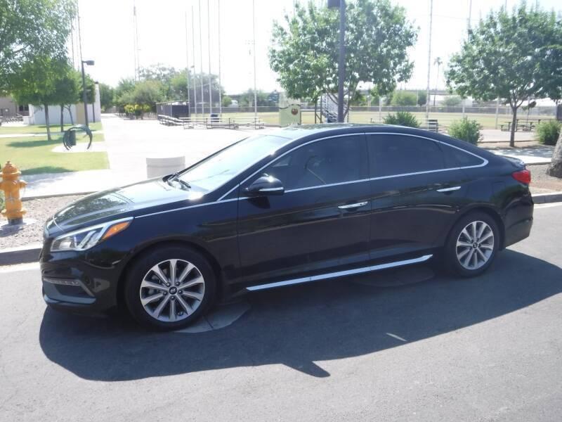2017 Hyundai Sonata for sale at J & E Auto Sales in Phoenix AZ