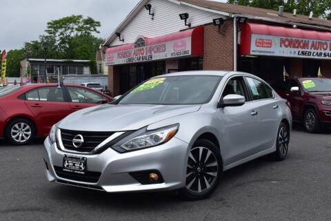 2018 Nissan Altima for sale at Foreign Auto Imports in Irvington NJ