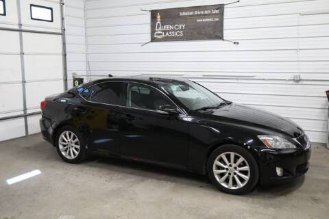 2010 Lexus IS 250 for sale at Queen City Classics in West Chester OH
