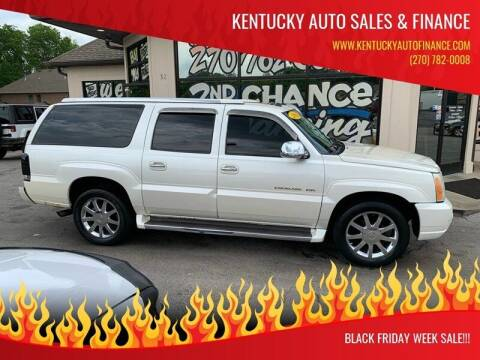 2005 Cadillac Escalade ESV for sale at Kentucky Auto Sales & Finance in Bowling Green KY