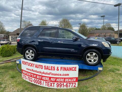 2008 GMC Acadia for sale at Kentucky Auto Sales & Finance in Bowling Green KY