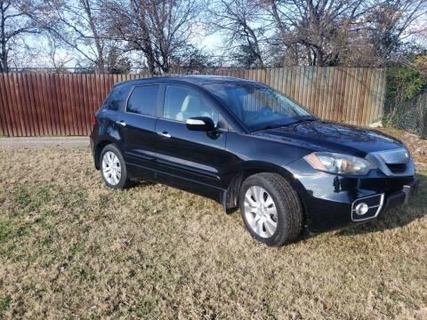 2012 Acura RDX for sale at El Jasho Motors in Grand Prairie TX