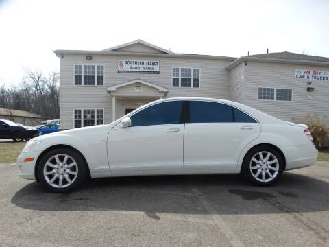 2008 Mercedes-Benz S-Class for sale at SOUTHERN SELECT AUTO SALES in Medina OH