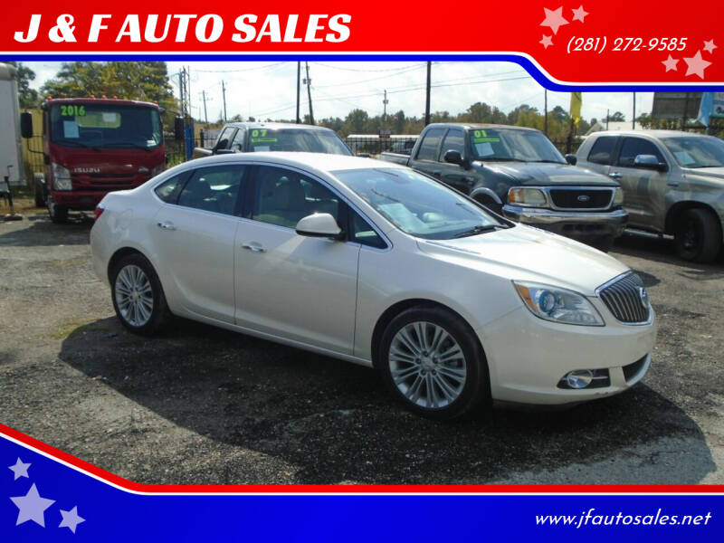 2013 Buick Verano for sale at J & F AUTO SALES in Houston TX
