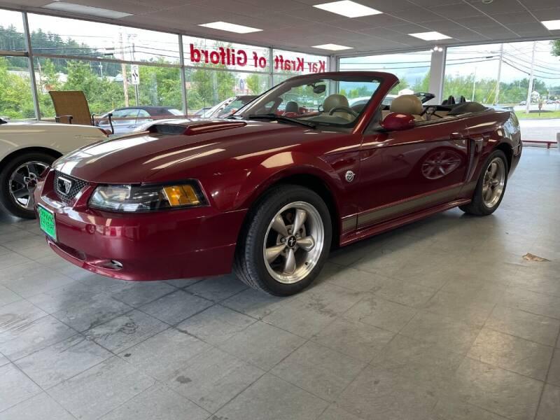 2004 Ford Mustang for sale at Kar Kraft in Gilford NH