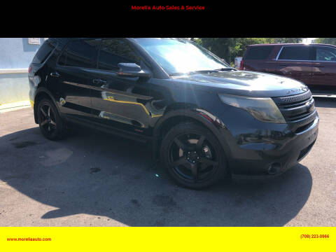 2013 Ford Explorer for sale at Morelia Auto Sales & Service in Maywood IL