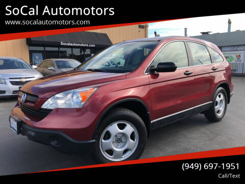 2007 Honda CR-V for sale at SoCal Automotors in Costa Mesa CA
