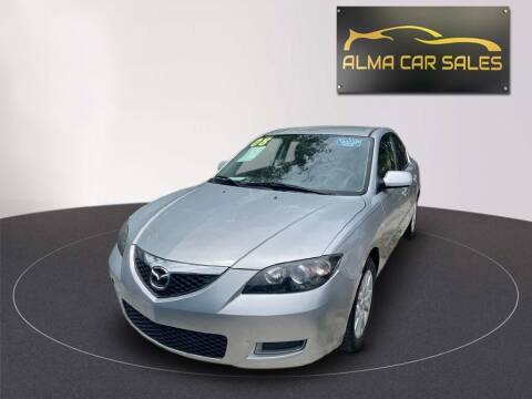 2008 Mazda MAZDA3 for sale at Alma Car Sales in Miami FL