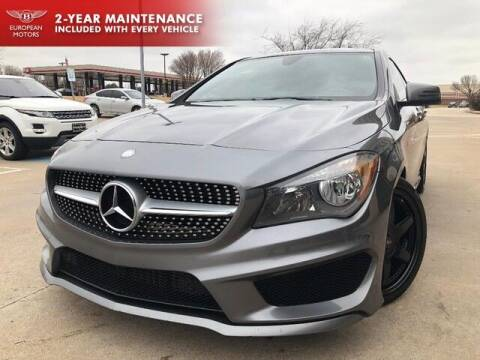 2015 Mercedes-Benz CLA for sale at European Motors Inc in Plano TX