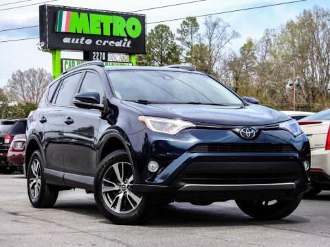 2018 Toyota RAV4 for sale at Used Imports Auto - Metro Auto Credit in Smyrna GA