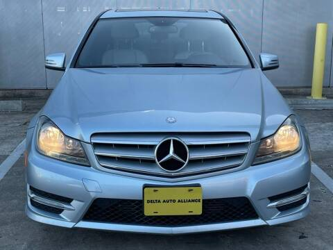 2013 Mercedes-Benz C-Class for sale at Delta Auto Alliance in Houston TX