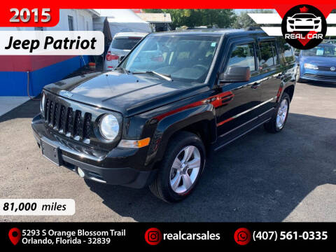 2015 Jeep Patriot for sale at Real Car Sales in Orlando FL