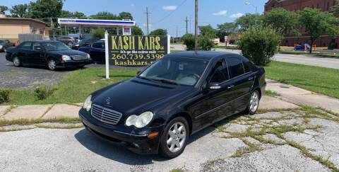 2004 Mercedes-Benz C-Class for sale at Kash Kars in Fort Wayne IN