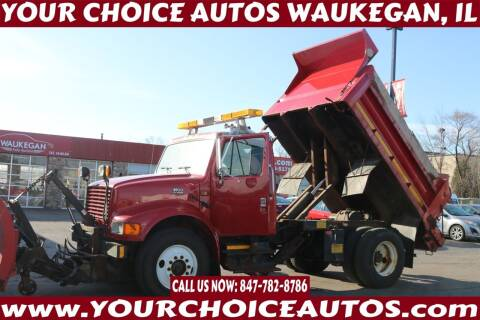 2001 International 4900 for sale at Your Choice Autos - Waukegan in Waukegan IL