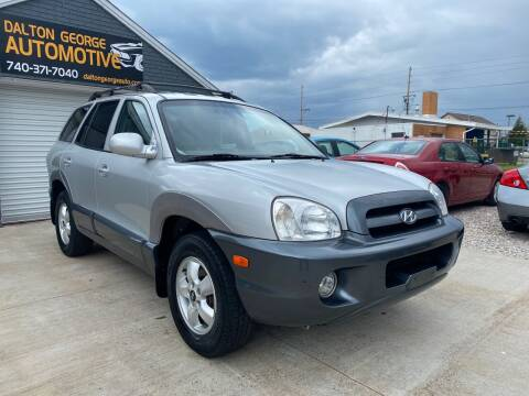 2005 Hyundai Santa Fe for sale at Dalton George Automotive in Marietta OH