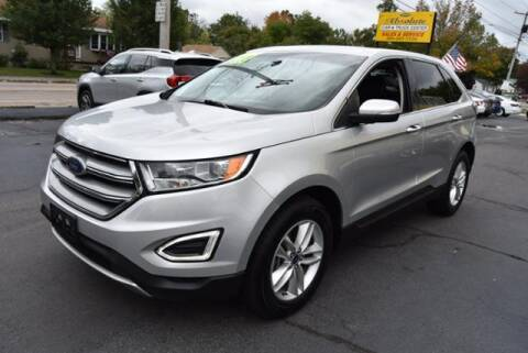 2017 Ford Edge for sale at Absolute Auto Sales, Inc in Brockton MA