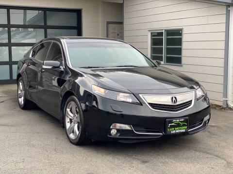 2012 Acura TL for sale at Lux Motors in Tacoma WA
