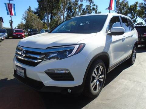 2016 Honda Pilot for sale at Centre City Motors in Escondido CA