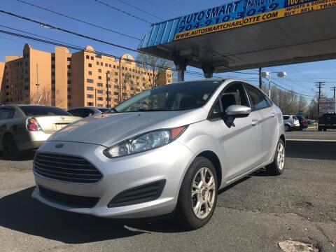 2014 Ford Fiesta for sale at Auto Smart Charlotte in Charlotte NC
