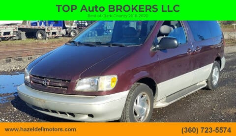 1998 Toyota Sienna for sale at TOP Auto BROKERS LLC in Vancouver WA