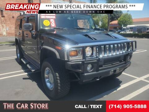 2003 HUMMER H2 for sale at The Car Store in Santa Ana CA
