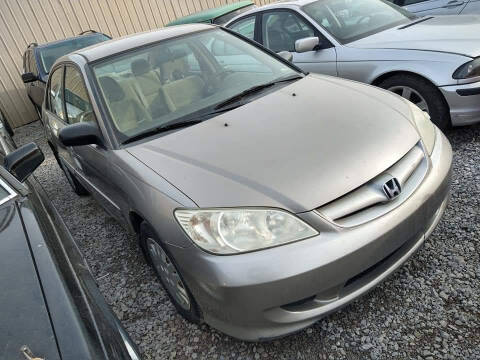 2005 Honda Civic for sale at EHE Auto Sales in Marine City MI